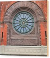 Indianapolis Union Station Building Wood Print