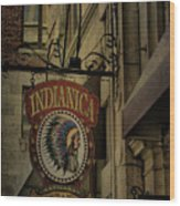 Indianica Montreal Wood Print