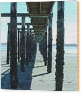 Indianola Washington Dock 2 Wood Print