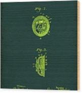 Indicator Patent Drawing 1b Wood Print