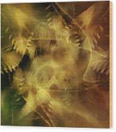 Indigenous Spirits 4 Wood Print