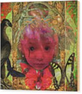 Indigo Child Wood Print