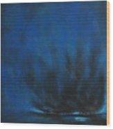Indigo Wood Print