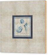 Indigo Ocean - Song Of The Sea Wood Print