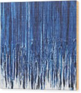 Indigo Soul Wood Print by Ralph White
