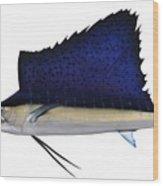 Indo Pacific Saifish Wood Print