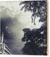 Indonesia Sky Line Wood Print