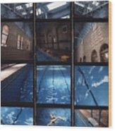 Indoor Pool Wood Print