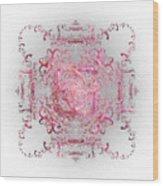 Indulgent Pink Lace Wood Print