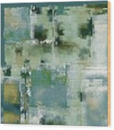Industrial Abstract - 17t Wood Print