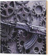 Industrial Firearms  Wood Print