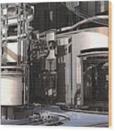 Industrial Manufacturing Wood Print