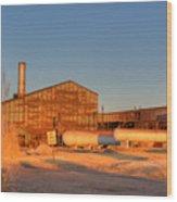 Industrial Site 1 Wood Print