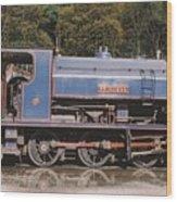 Industrial Steam Engine Wood Print