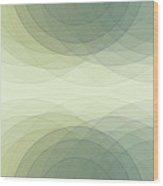 Industry Semi Circle Background Horizontal Wood Print
