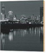 Indy Gray Wood Print