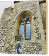 Infamous White Tower Of London Wood Print