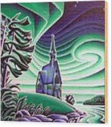 Church Of The Infant Jesus, Longlac, Ontario Wood Print