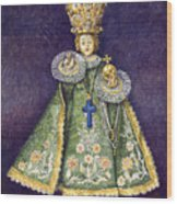 Infant Jesus Of Prague Wood Print