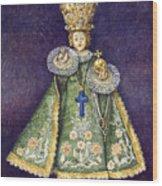 Infant Jesus Of Prague Wood Print by Yuriy  Shevchuk