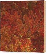 Inferno-3 Wood Print