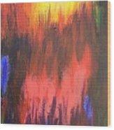 Inferno I Wood Print