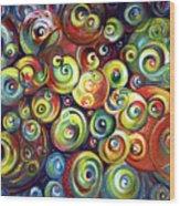 Infinite Cosmic - Abstract Wood Print