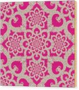 Infinite Lily In Pink Wood Print