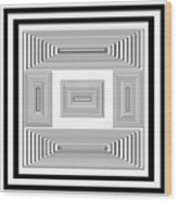 Infinite Maze 2 Wood Print