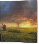 Infinite Oz Wood Print by Philip Straub