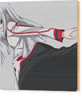 Infinite Stratos Wood Print