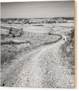 Infinity Road To Santiago Wood Print