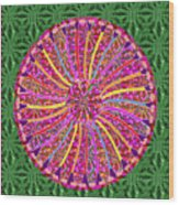 Infinity Star Flower An Abstract Fineart Expression By Navinjoshi At Fineartamerica Colorful Fun Wood Print