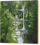 Infinitys Twin Wood Print