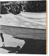 Inflatable Flag July 4th Parade 1 Tucson Arizona Wood Print