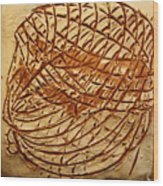 Influences - Tile Wood Print