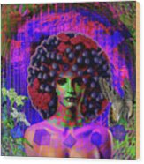 Influenza She Has Gone Viral Wood Print