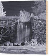 Infrared Mill 2 Wood Print