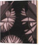 Infructescence Wood Print
