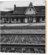 Ingersoll Train Station    Wood Print