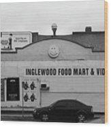 Inglewood Food Mart Wood Print