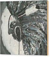 Injun Jo Wood Print