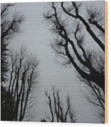 ink Wood Print