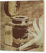 Inkwell V Wood Print