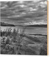 Inland Sea At Skye Wood Print