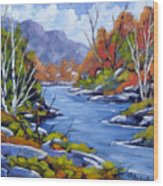 Inland Water Wood Print
