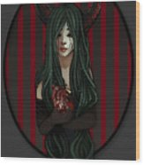 Inner Demon Wood Print