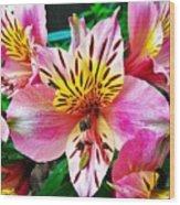 Inner Flower Of A Goddess Wood Print