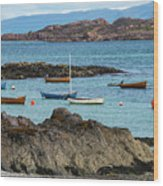 Inner Hebrides Transportaion Wood Print