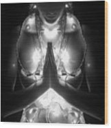 Inner Illumination - Self Portrait Wood Print